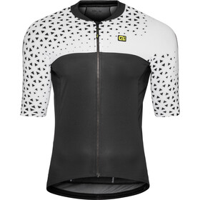 Alé Cycling Solid Climb Jersey korte mouwen Heren, white-black